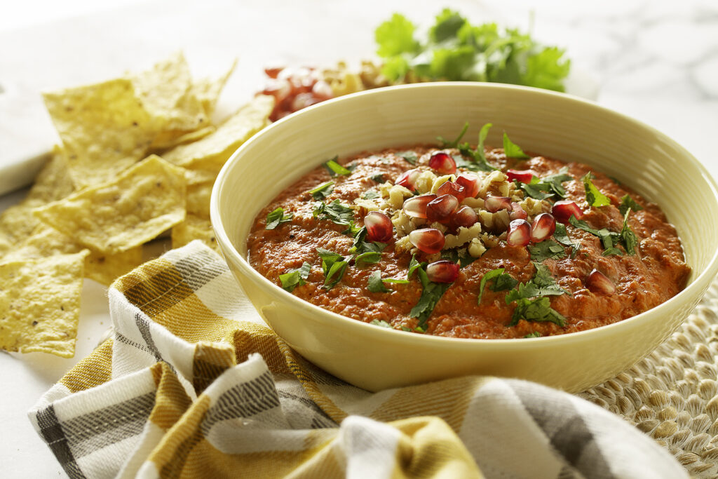Muhammad (Spiced Red Pepper and Walnut Dip)