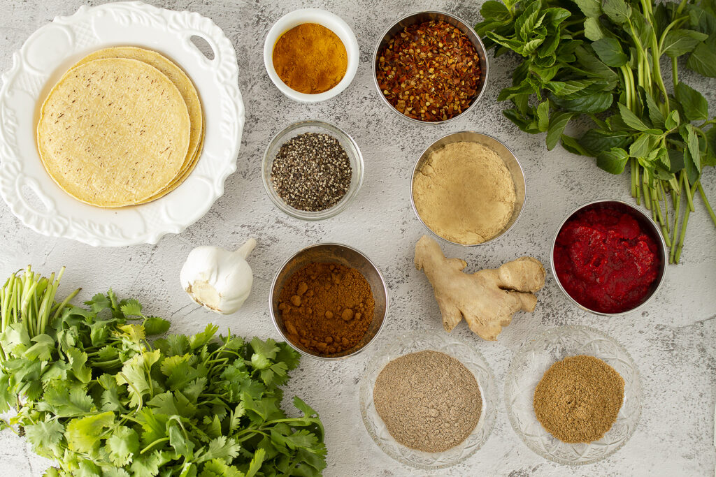 Curried taco spices